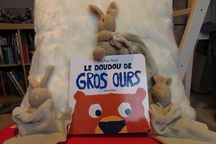 concours Le doudou de Gros Ours