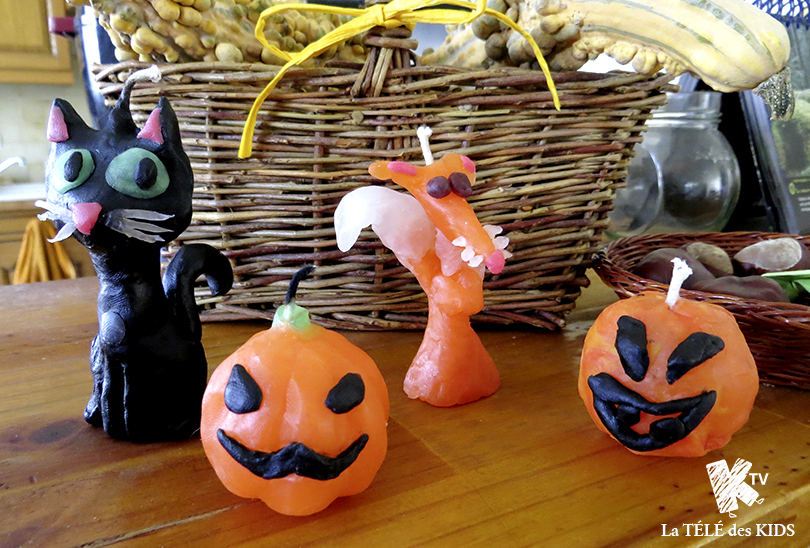 bougies halloween