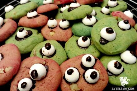 Cookies monstres