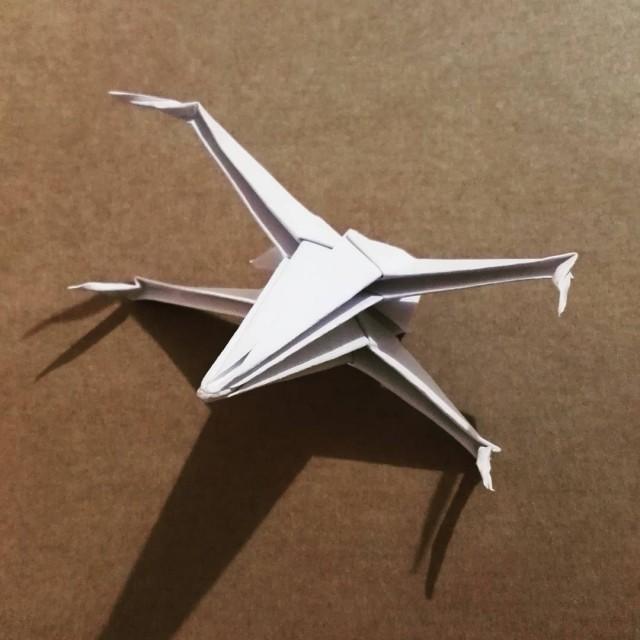 Pour la sortie de Rogue One jai test un origamihellip