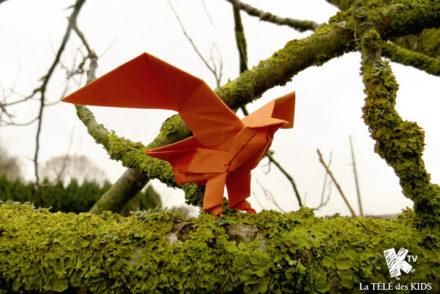 Origami aigle