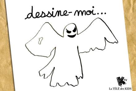 Dessin Halloween Fantome