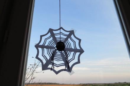 Toile d'araignée en papier