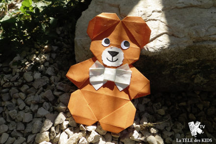 Origami ours facile
